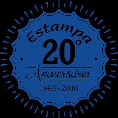 20 aniversario Estampa positivo